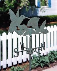 Hummingbird Garden Decor Hummingbird Garden Weather Vane Outdoor Decor Pinterest