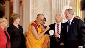 dalai lama spr che u s congressional gold medal ceremony the 14th dalai lama