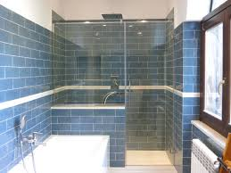 parete fissa doccia box doccia in cristallo su misura con parete fissa anta apribile