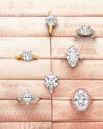 rings that say what does your engagement ring say about you martha stewart