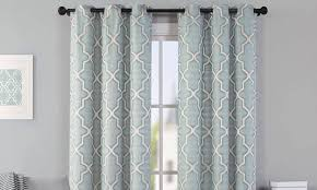 How To Measure Windows For Curtains by Hang A Valance And Curtains In 6 Easy Steps Overstock Com
