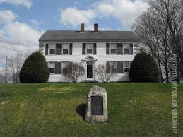 Col House by Historical Marker For Col Charles Johnston A Founder Of