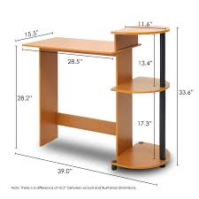 Smallest Computer Desk Furinno Compact Computer Desk Com With Incredible Smallest Trends