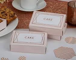 wedding cake boxes for guests wedding cake box etsy