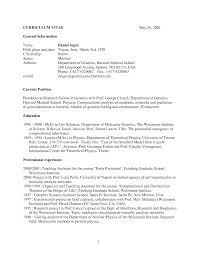 Best Resume Harvard by Cv Resume For Medical Principal Resume Sample