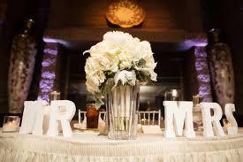 bride and groom sweetheart table bride groom wedding table decorations elegant bride and groom