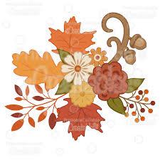 autumn flowers pretty autumn flowers svg cutting files clipart