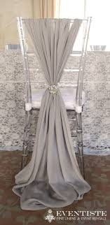 diy chair sashes wedding chair covers diy ivory party sash