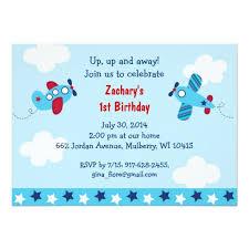 birthday invites outstanding airplane birthday invitations ideas