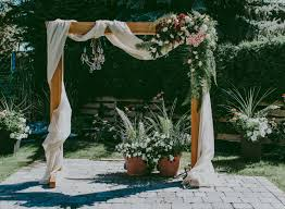 wedding arches images diy wooden wedding arch 15 diy wedding arches to highlight