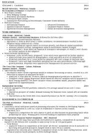 Resume Canada Example by Resume Or Cv In Canada Virtren Com