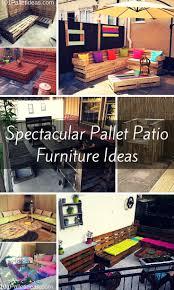 Pallet Patio Furniture Plans by 70 Best Pallet Outdoor Furniture Images On Pinterest Pallet