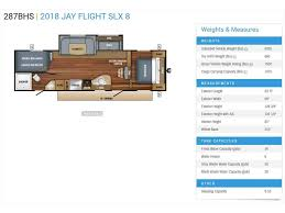 Jayco Travel Trailers Floor Plans by 2018 Jayco Jay Flight Slx 287bhs Bourbon Mo Rvtrader Com