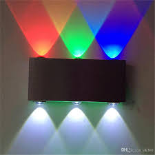 9w wall ls aluminum 6 led wall lighting for dj club ktv bar