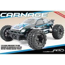 carnage 1 10 4wd brushless rtr truggy