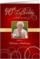 90th birthday invitations from greeting card universe