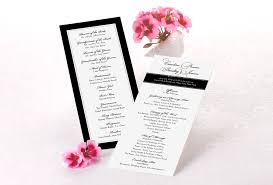 tea length wedding programs avoid these wedding program mistakestruly engaging wedding