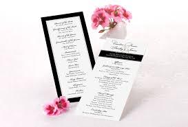 tea length wedding program avoid these wedding program mistakestruly engaging wedding