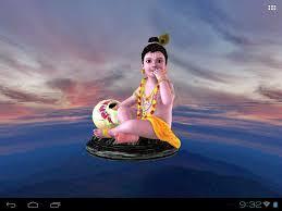 krishna u0027s free animated 3d mobile live wallpaper youtube