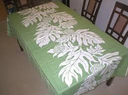 alohakine design breadfruit hawaiian quilt water resist coating