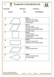 2d shapes cazoom maths worksheets
