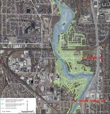 100 Year Floodplain Map A Freshwater Controversy Does The Estabrook Dam Cause Flooding