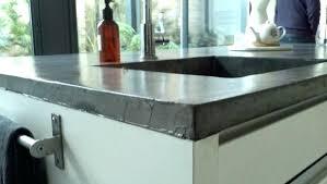 cuisine béton ciré beton cire pour plan de travail cuisine carrelage plan de travail