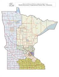 Circuit Court Map Minnesota Redistricting Panel Gets Gop Dfl Political Maps