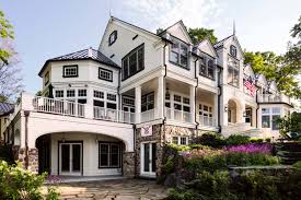 Farmhouse Style Architecture by A Gorgeous Farmhouse Style Home On Big Cedar Lake