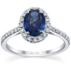 sapphire halo engagement rings pave accented oval blue sapphire halo