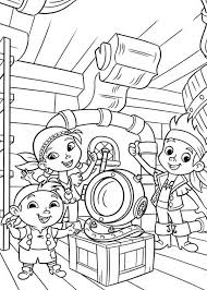 jake neverland pirates coloring pages print funycoloring
