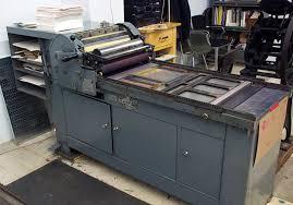 letterpress printing the printing process letterpress printing