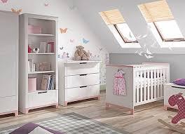 babyzimmer weiß grau valencia massivholz qmm traummoebel
