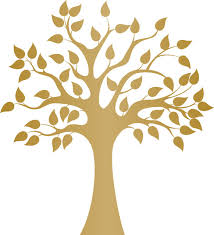 modern golden tree wall decal contemporary wall decals by