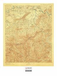 Yosemite Topo Map Historic U S Topo Maps Of National Parks U2013 Burnt Point Lodge