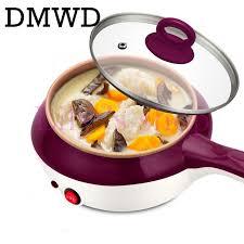 poele electrique cuisine dmwd mini vapeur en acier inoxydable oeufs chaudière poêle