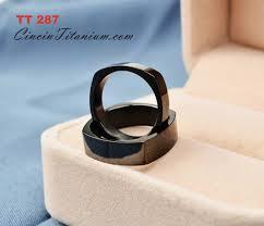 model cincin titanium cincin titanium tt287 cincin titanium hitam asli pernikahan