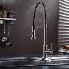 stainless steel pull kitchen faucet multi function stainless steel kitchen faucet sus304 stainless steel