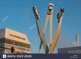 Porsche Zentrum Baden Baden Porsche Center Sculpture Inspiration 911 Artist Gerry Judah