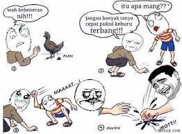 Meme Komik Indonesia - troll kotoran ayam jancok gambar meme lucu meme komik indonesia