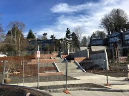 Me Kwa Mooks Park West Seattle by West Seattle Blog U2026 Murray Cso Project Landscaping Close To Complete