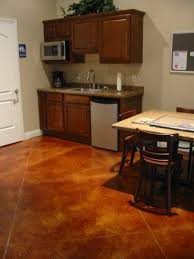 How To Stain A Concrete Basement Floor by Kansas City Concrete Staining Acid Stain