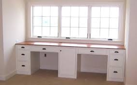 Custom Made Office Desks Built In Office Desk Excellent Built In Office Desk In Home