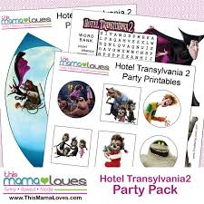 hotel transylvania cake toppers hotel transylvania 2 printables in home release this