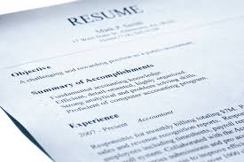 Example Objective Statement For Resume by Using An Objective Statement On A Résumé Is Passé U2013 Killing My Career