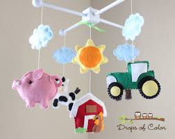 Handmade Nursery Decor by Crib Mobile For Older Babies All About Crib