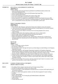 er nurse resume professional objective exles er nurse resume resumes emergency room registered exles template