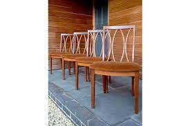 G Plan Dining Chair Lovely Set Of Four G Plan Crescent Back Dining Chairs Vinterior
