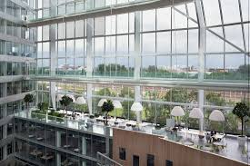 Inside Greenhouse Ideas by The Edge Is The Greenest Most Intelligent Building In The World