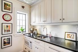 white kitchen subway tile backsplash white subway tile kitchen kitchen traditional with black and white